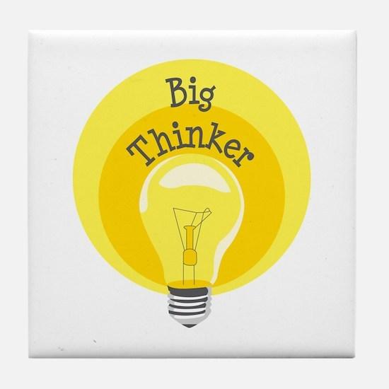 Big Thinker Tile Coaster