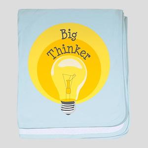 Big Thinker baby blanket