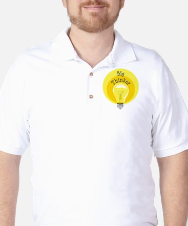 Big Thinker Golf Shirt