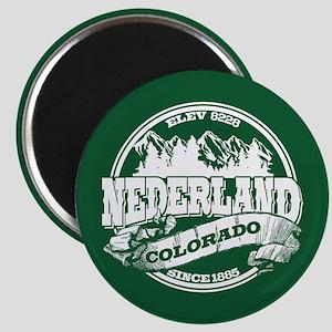 Nederland Old Circle Green Magnet