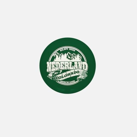 Nederland Old Circle Green Mini Button