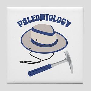 PALEONTOLOGY Tile Coaster