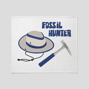 FOSSIL HUNTER Throw Blanket