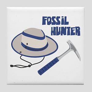 FOSSIL HUNTER Tile Coaster
