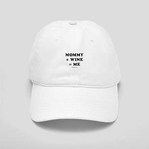 Mommy + Wine = Me Cap
