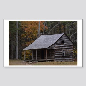 Carter Shield's Cabin, Cades C Sticker (Rectangle)