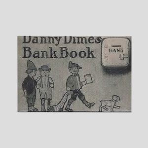 Danny Dime's Bank Book (F.A.O. Sc Rectangle Magnet