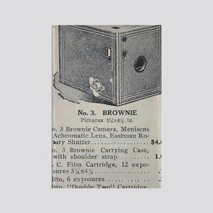 Eastman's Celebrated No. 3 Browni Rectangle Magnet