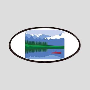 Mountain Canoe Lake Patches