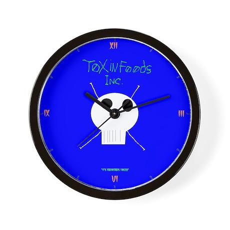 Toxinfoods Wall Clock
