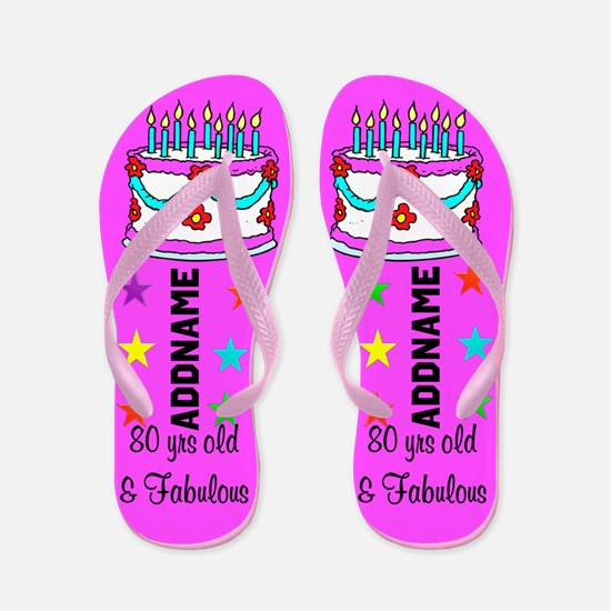 Awesome 80th Flip Flops