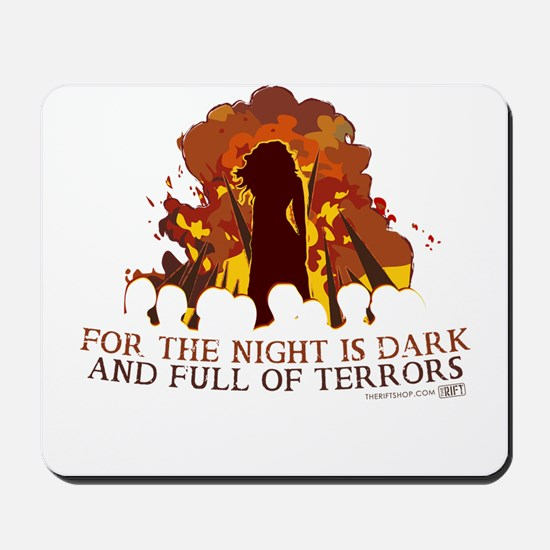 Full of Terrors Mousepad