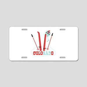 COLORADO Aluminum License Plate