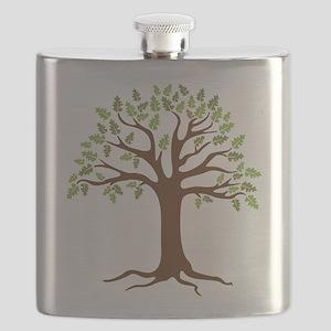 Oak Tree Flask
