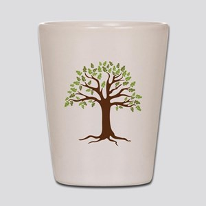 Oak Tree Shot Glass