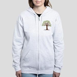 Oak Tree Zip Hoodie