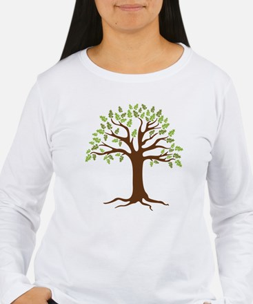 Oak Tree Long Sleeve T-Shirt