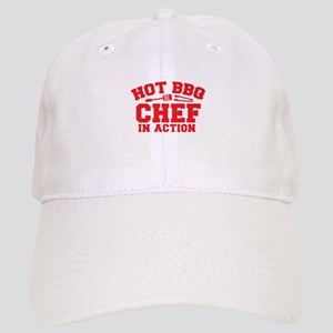 Hot BBQ Chef in Action Cap