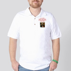 navy Golf Shirt