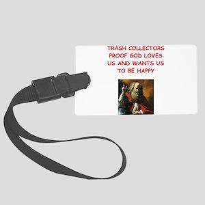trash collector Luggage Tag
