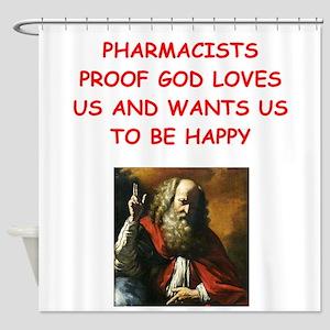 pharmacist Shower Curtain