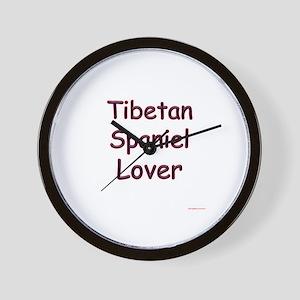 Tibbie Lover Wall Clock