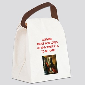 lawyer Canvas Lunch Bag