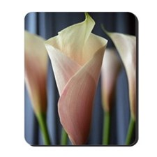 Calla Lily Cocktail Party Art Mousepad