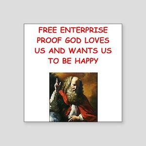 free enterprise Sticker