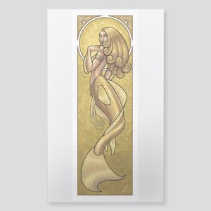 Mermaidnouveaugold.Png Sticker