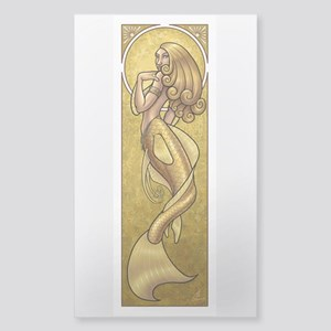 Mermaidnouveaugold Sticker