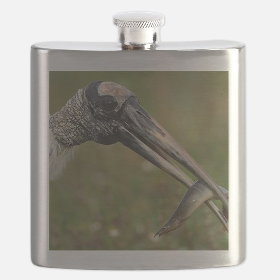 Wood Stork Flask
