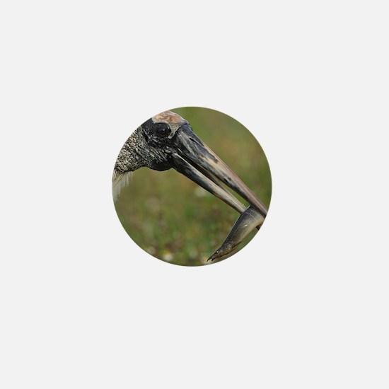 Wood Stork Mini Button
