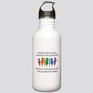 Crayon Water Bottle