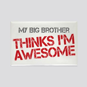 Big Brother Awesome Rectangle Magnet