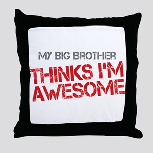 Big Brother Awesome Throw Pillow
