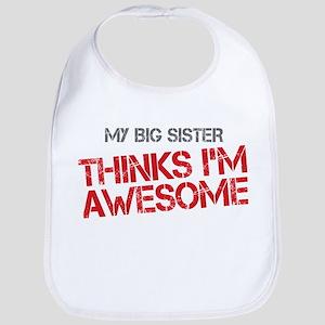 Big Sister Awesome Bib