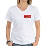 I'm the Player Women's V-Neck T-Shirt