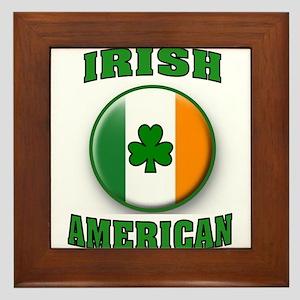 PROUD IRISH Framed Tile