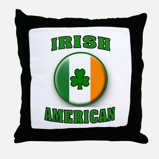 PROUD IRISH Throw Pillow