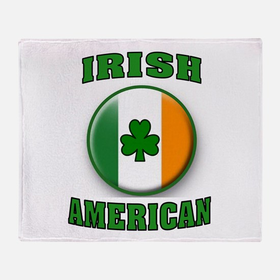 PROUD IRISH Throw Blanket