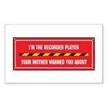 I'm the Player Rectangle Sticker
