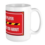 I'm the Player Large Mug