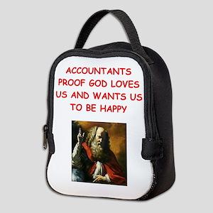 accountant Neoprene Lunch Bag