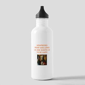 scrapbook Water Bottle