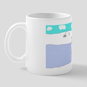 Ice Skating Penguin! Mug