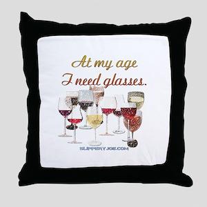 Glasses_1 Throw Pillow