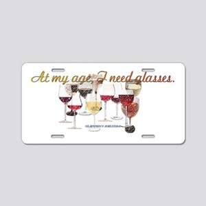 Glasses_5 Aluminum License Plate
