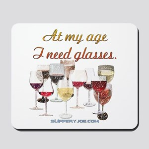 Glasses_11 Mousepad