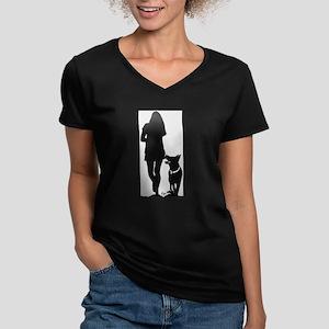 German Shepherd Heel Silhoutte T-Shirt